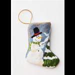 Bauble Stocking Frosty