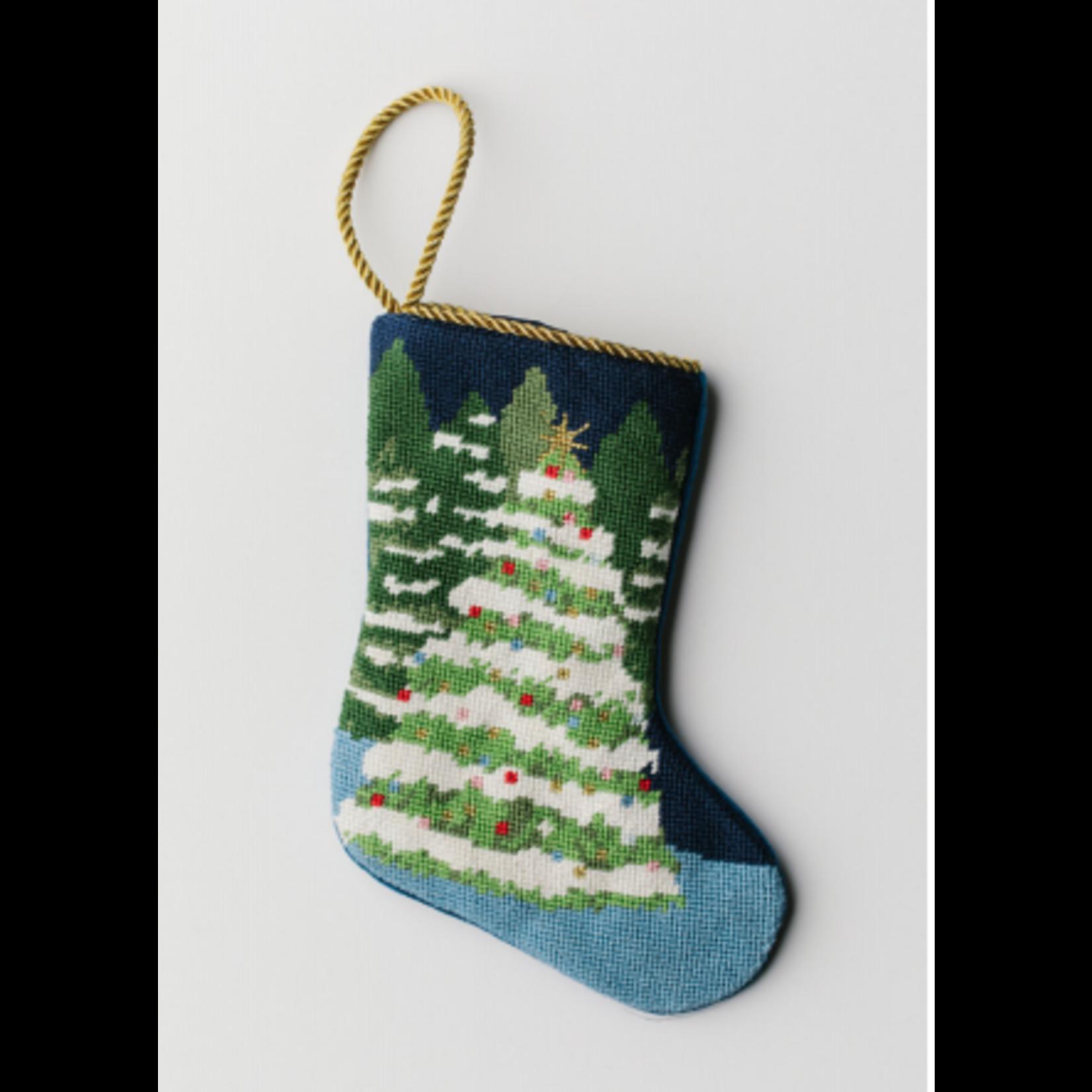 Bauble Stocking Winter Wonderland