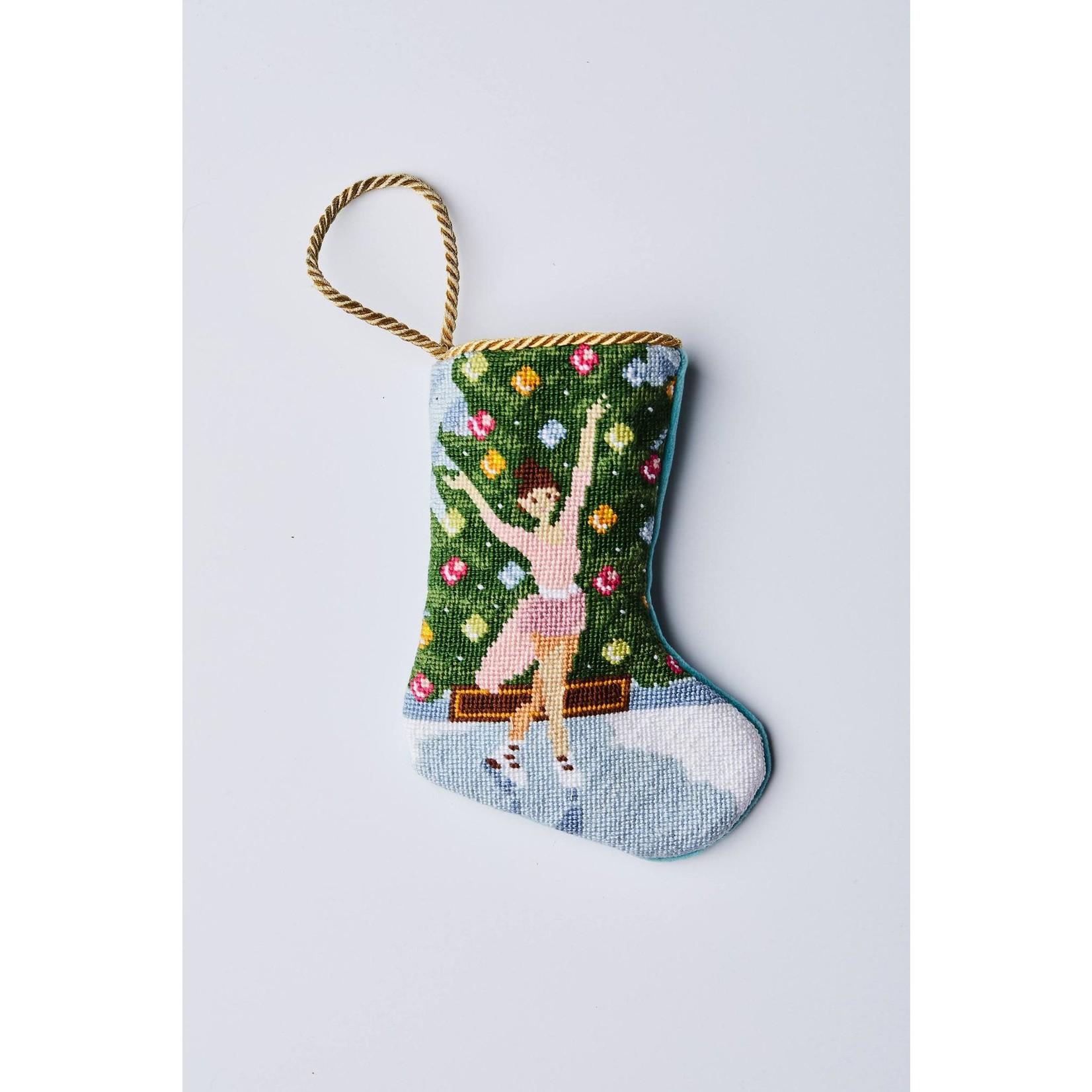 Bauble Stocking Holiday Grace