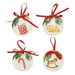 Nutcrcacker Ornament Asst./4