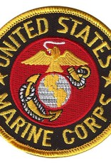 "Marine Corps Patch  3"" round"
