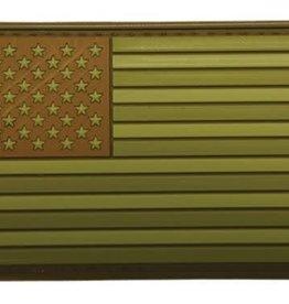 Subdued Multi U.S. Flag Patch