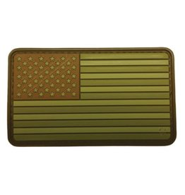 Subdued Multi U.S. Flag Patch