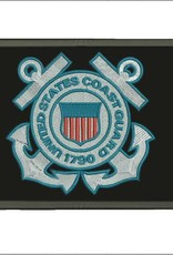 Coast Guard Crest Hook and Loop Patch
