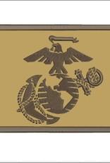 Marine Corps Desert Brown Hook & Loop Patch