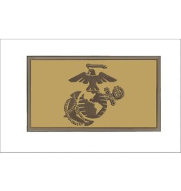 Marine Corps Desert Brown Hook & Loop Patch