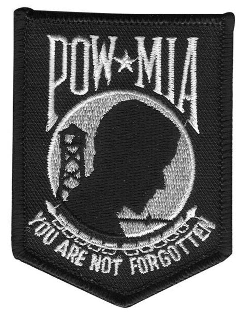 """POW/MIA logo patch 3""""x2.5"""""""