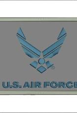 Air Force (Gray w/ Logo) Hook & Loop Patch