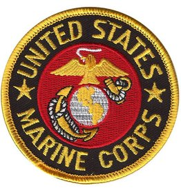 Marine Corps 3'' Round Patch