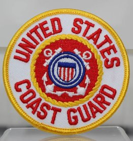 Coast Guard 3'' Round Patch
