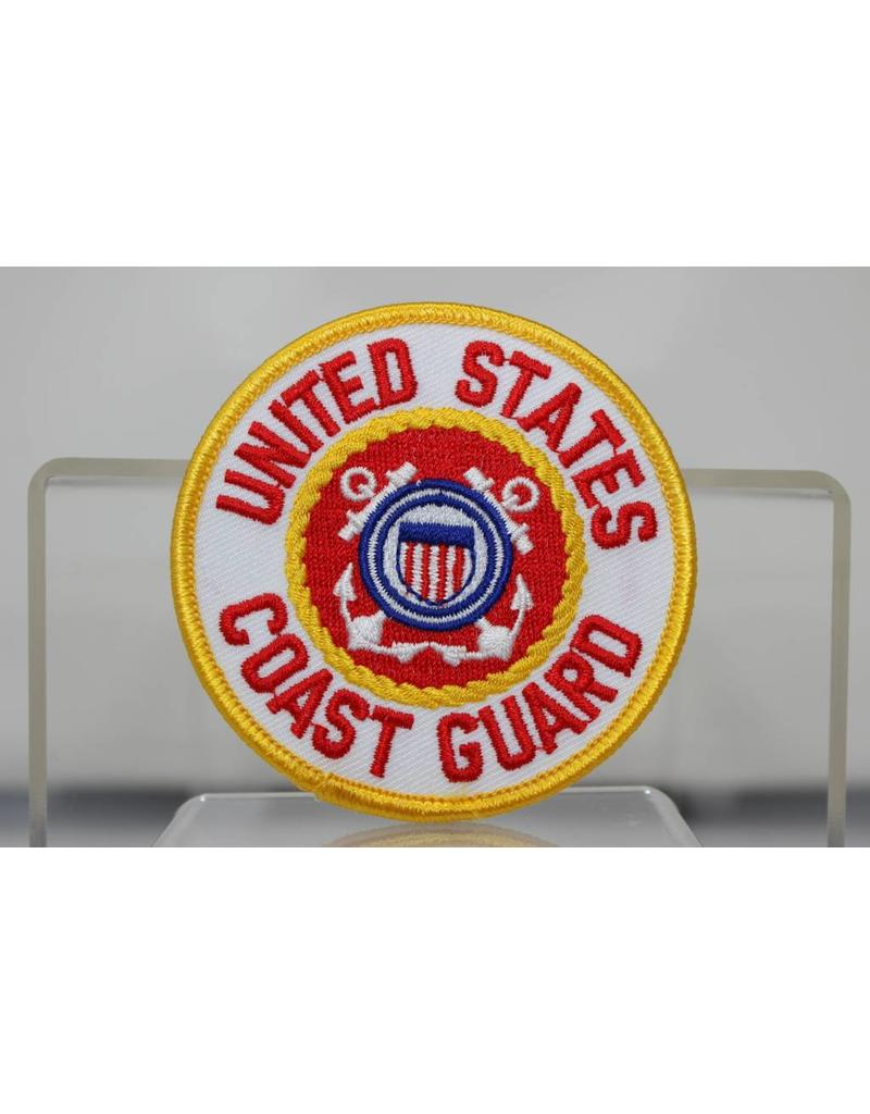 Coast Guard 3'' Round Patch