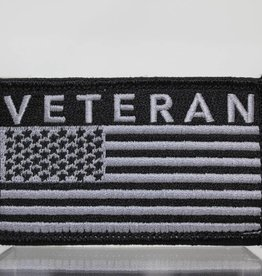 Veteran w/ U.S. Flag Hook and Loop Patch