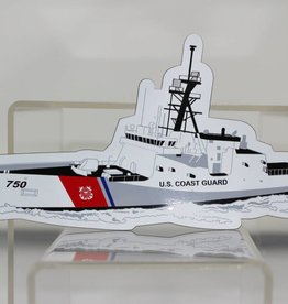Coast Guard Die Cut Magnet