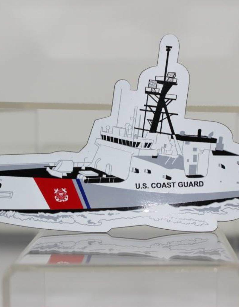Coast Guard Die Cut Magnet