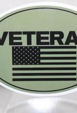 Veteran w/Flag Magnet