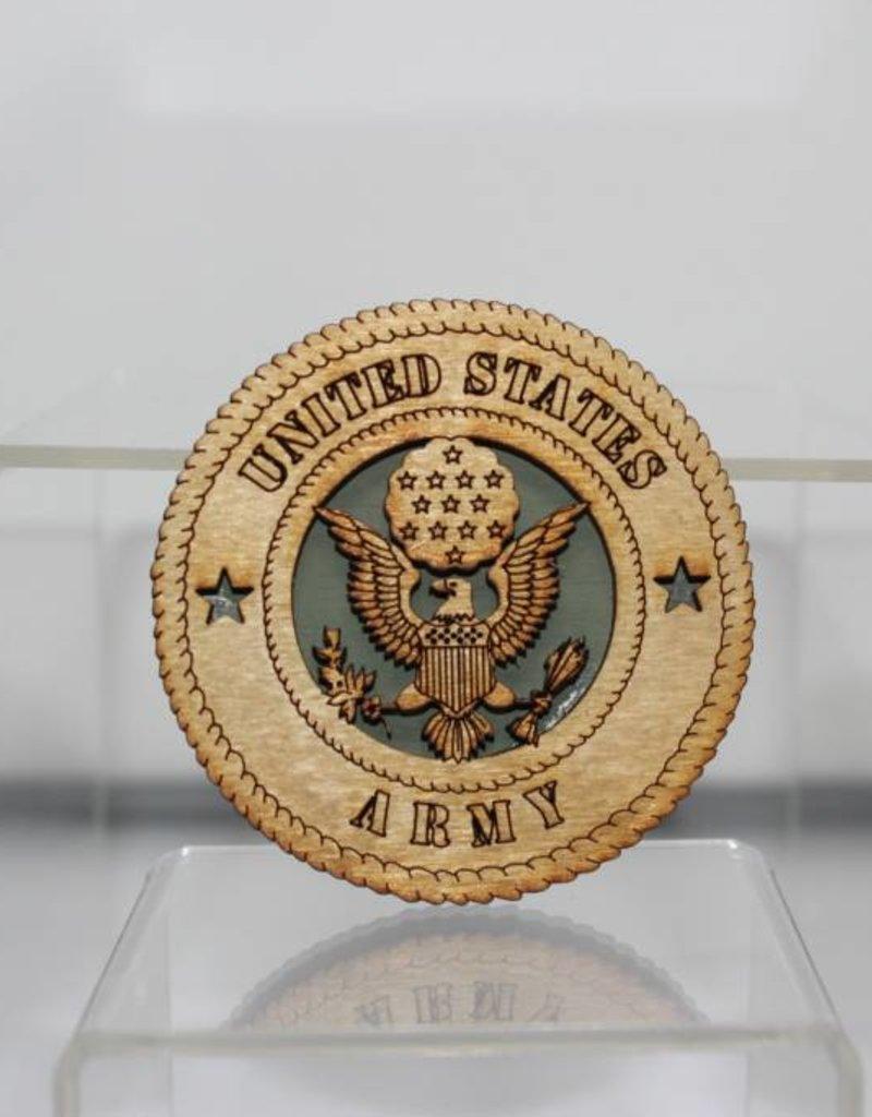 Army SM Magnet Locally Made