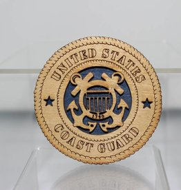 Coast Guard SM Magnet Locally Made