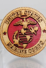 Marine Corps SM Magnet Locally Made
