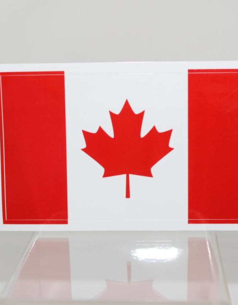 Canadian Flag Decal