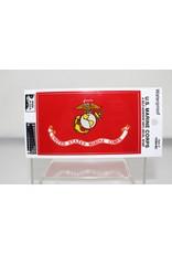 Marine Corps Flag Decal