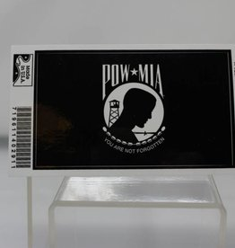 POW/MIA Flag Vinyl Decal