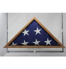 Oak Flag case 5x9.5'