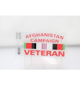Afghanistan Campaign Veteran Decal
