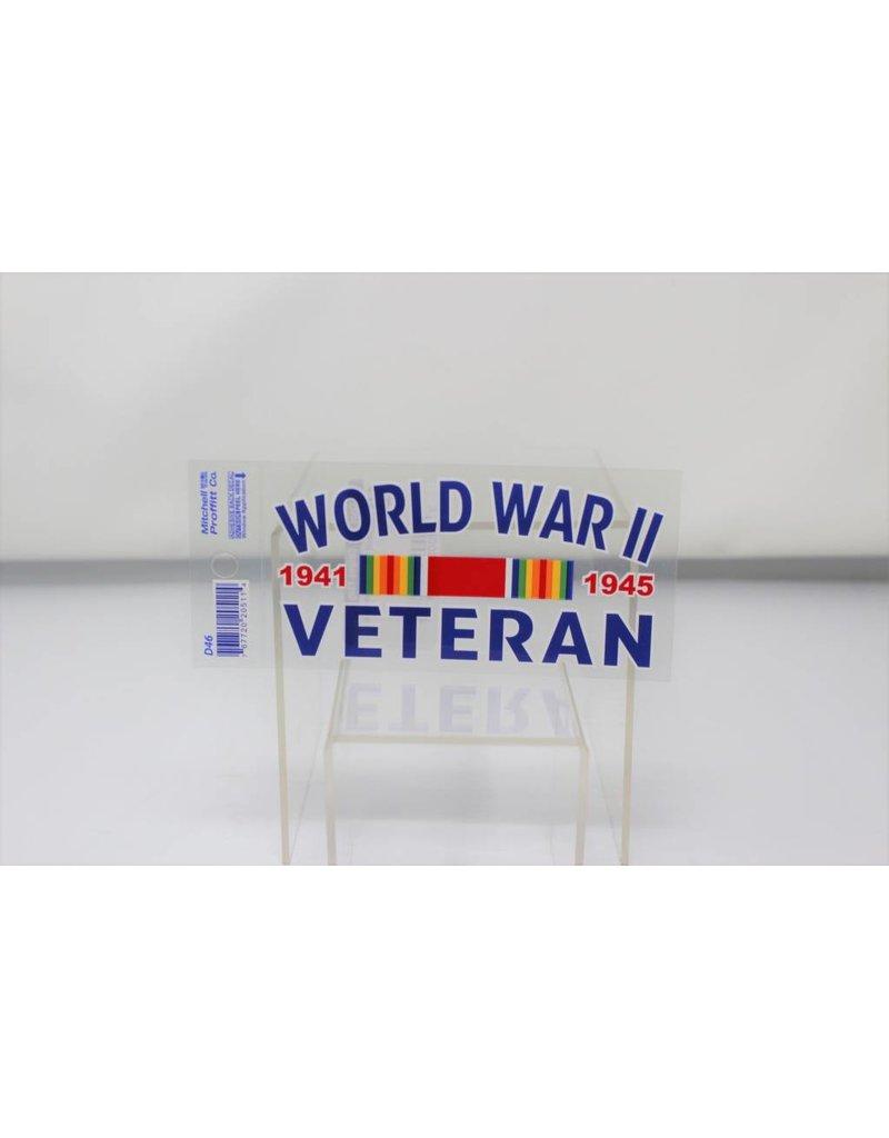 World War II Veteran Decal