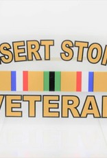 Desert Storm Veteran Decal