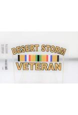 Desert Storm Veteran Decal
