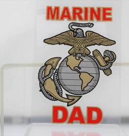 Marine Corps Dad Decal