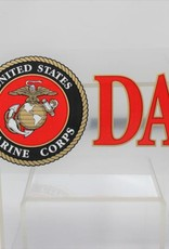 Marine Dad w/EGA Decal