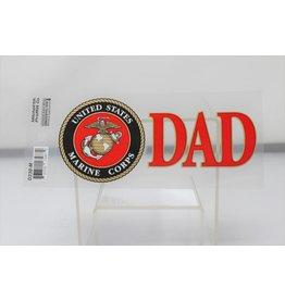 Marine Dad w/EGA Decal