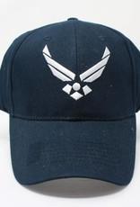 Air Force w/ Logo Baseball Cap (Dark Navy)
