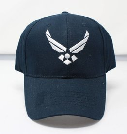 Air Force w/ Logo Baseball Cap (Dark Navy)