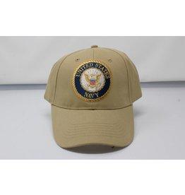 Navy Baseball Cap (Khaki)