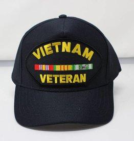Vietnam Veteran Baseball Cap (Black)