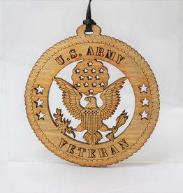Army Veteran Ornament
