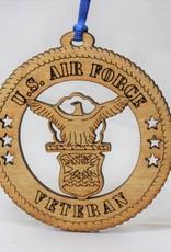 Air Force Veteran Ornament