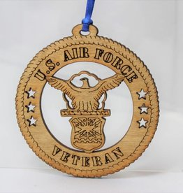 Air Force Veteran Ornament