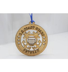 Coast Guard Veteran Ornament