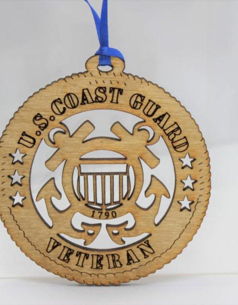 Coast Guard Veteran Ornament