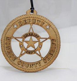 Deputy Monroe County Sheriff Ornament