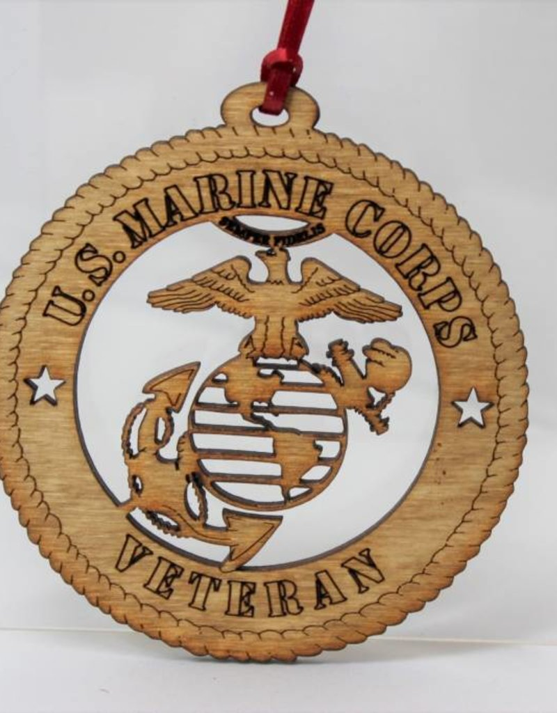 Marine Veteran Ornament