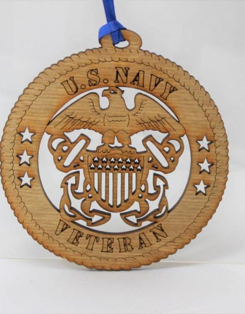 Navy Veteran Ornament