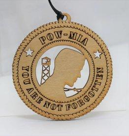 POW/MIA You Are Not Forgotten Ornament