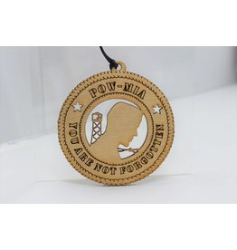 POW/MIA You Are Not Forgotten Ornament