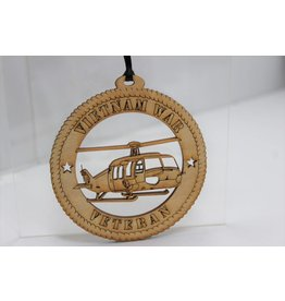Vietnam Veteran Ornament