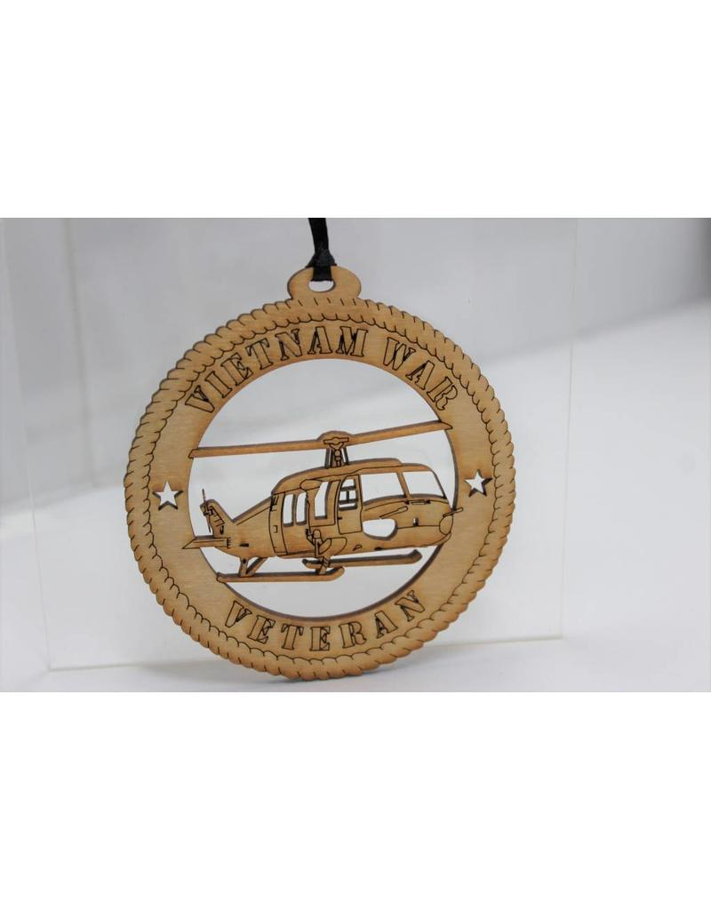 Vietnam Veteran Ornament