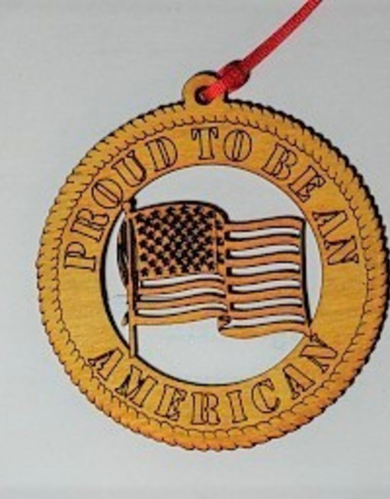 Proud To Be An American Ornament